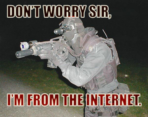 dont worry from the internet gun image macro