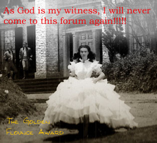 golden flounce award scarlett o hara god witness never image macro