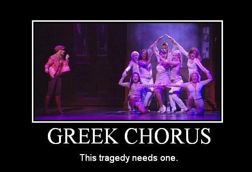 greek chorus tragedy image macro