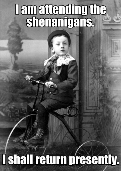 shenanigans_image_macro_bicycle_vintage_photo