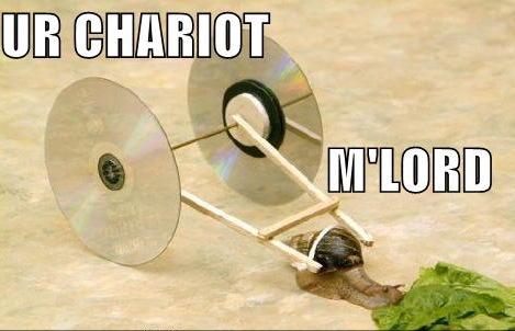 cd chariot lord snail image macro
