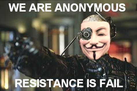 we are anonymous resistance is fail 4chan image macro