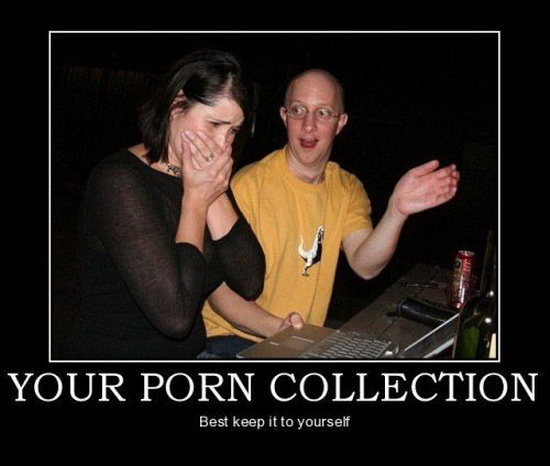 Your Pr0n Collection Best Keep It To Yourself Shocked Image Macro