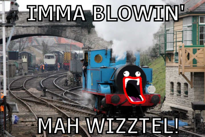 shoop da whoop meme train blowing whistle image macro