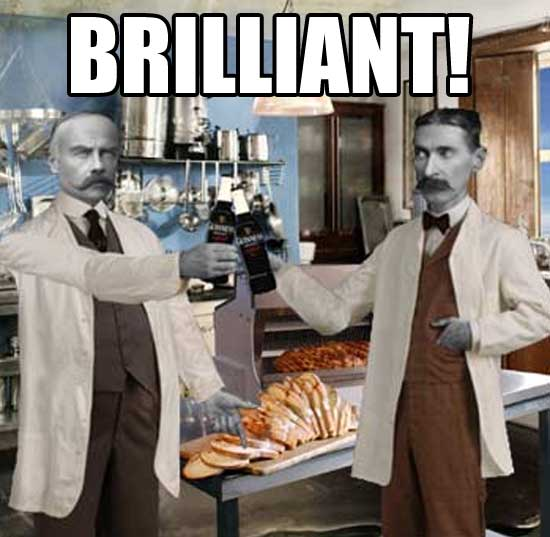 brilliant scientists kitchen guinness cheers image macro