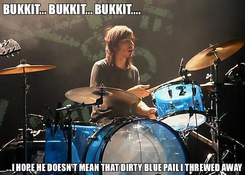 dirty blue bucket bukkit lolrus meme rockstar image macro