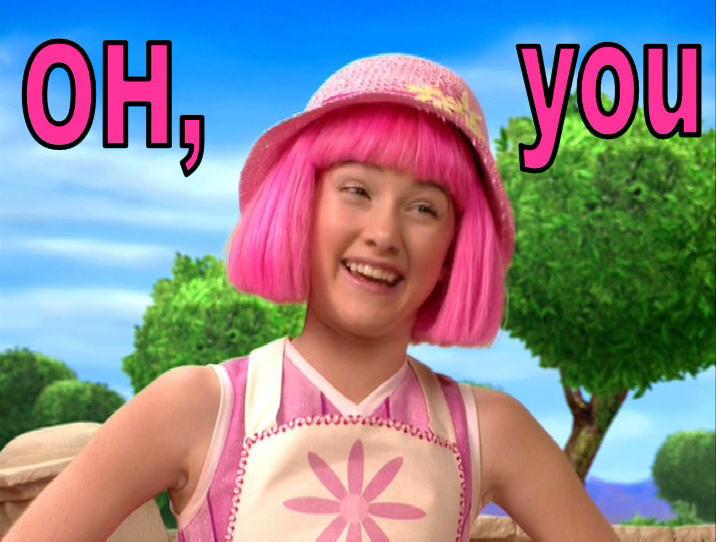 Fake lazy town stephanie images — pic 8