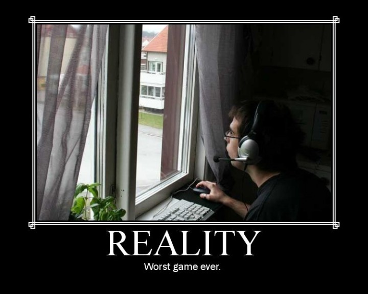 reality worst game sucks MMORPG image macro