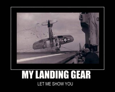 landing gear airplane nose dive crash land image macro