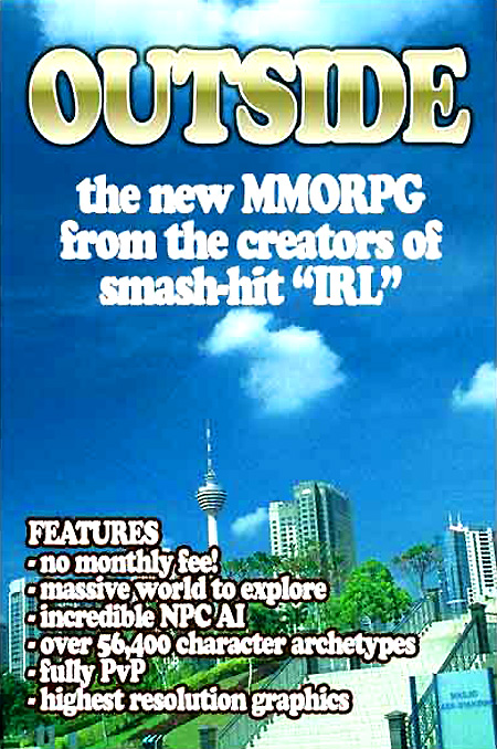 outside mmorpg irl reality game gaming image macro