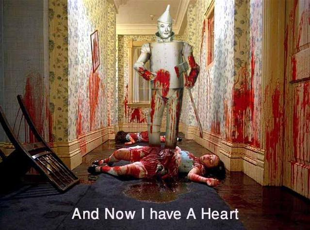 tin man heart wizard of oz the shining blood image macro