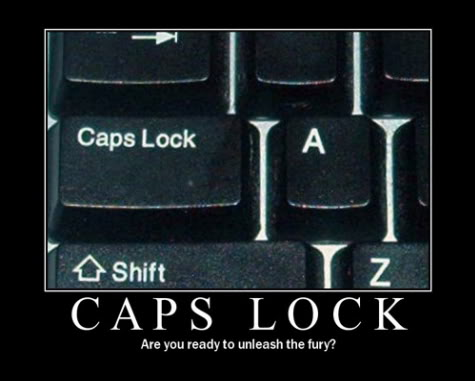 meme capslock unleash the fury computer keyboard image macro