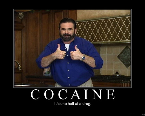 bill mays advertising cocaine drugs thumbs up image macro