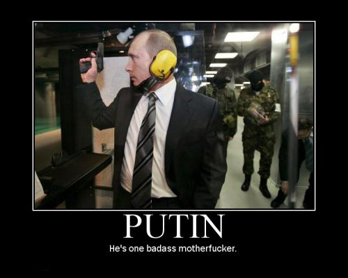 putin russia shooting target practice gun badass image macro