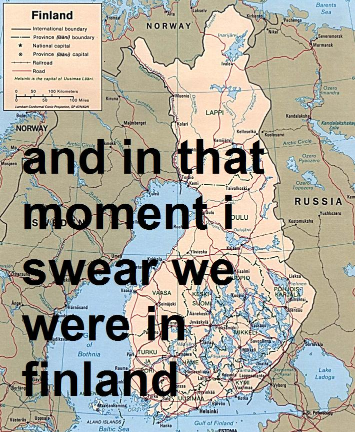 and in that moment i swear we were infinite finland perks of being a wallflower image macro