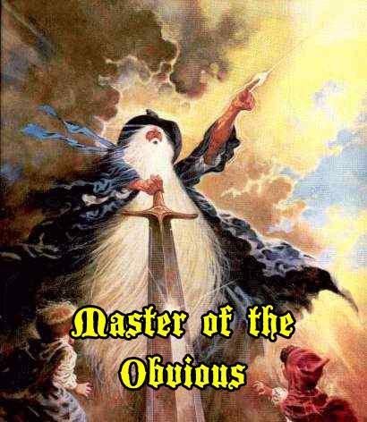 wizard with a sword stormy sky long beard magic image macro