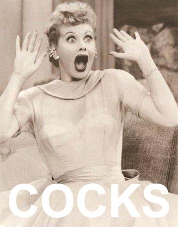 i love lucy looking shocked surprised wow cocks penis dick image macro