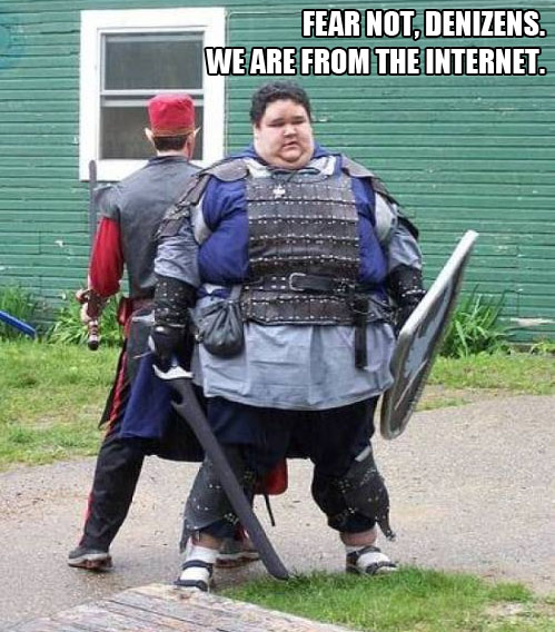 fat kids dressed up cosplay gamers dumb idiots internets image macro