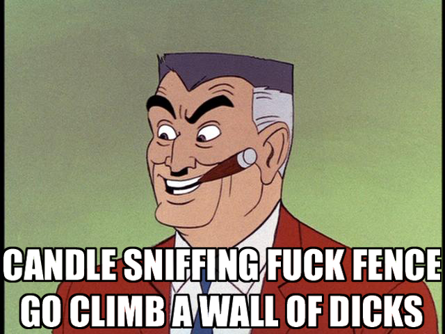 cartoon dad father guy smoking cigar insult image macro