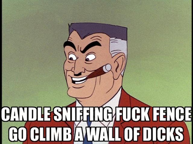 cartoon dad father guy smoking cigar insult image macro