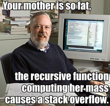 your mom computer scientist math function obesity meme image macro