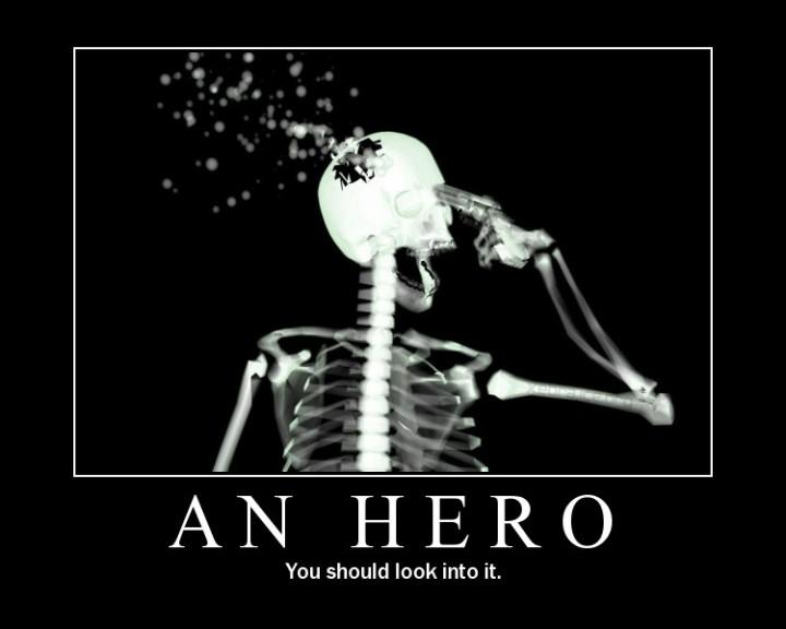 skeleton gun motivator