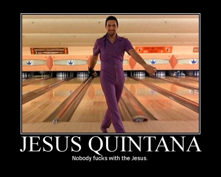 jesus quintana big lebowski bowling turturro purple dude